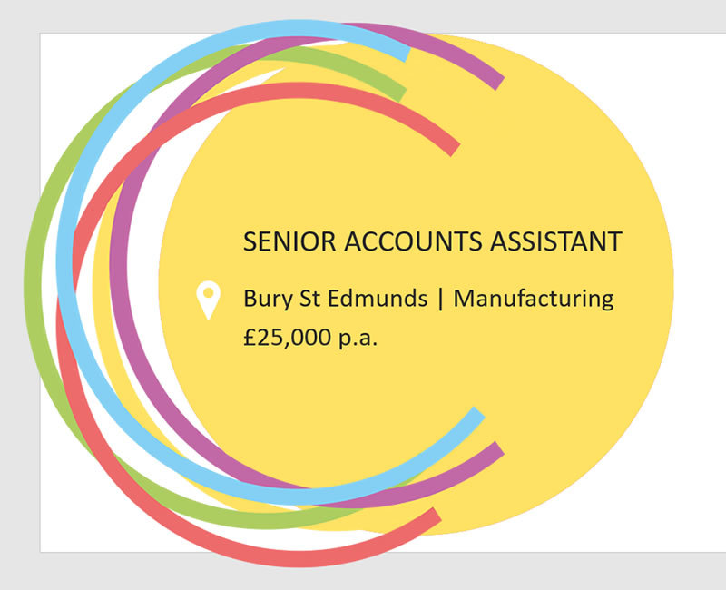 Accounts Assistant job in Bury St Edmunds