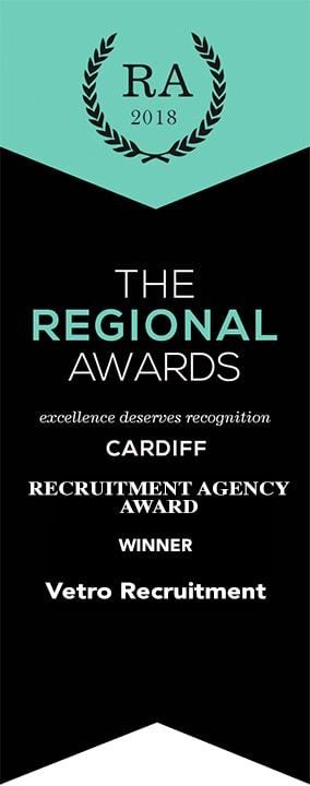 Regional Award Winner Cardiff Recruitment Agency Of The Year