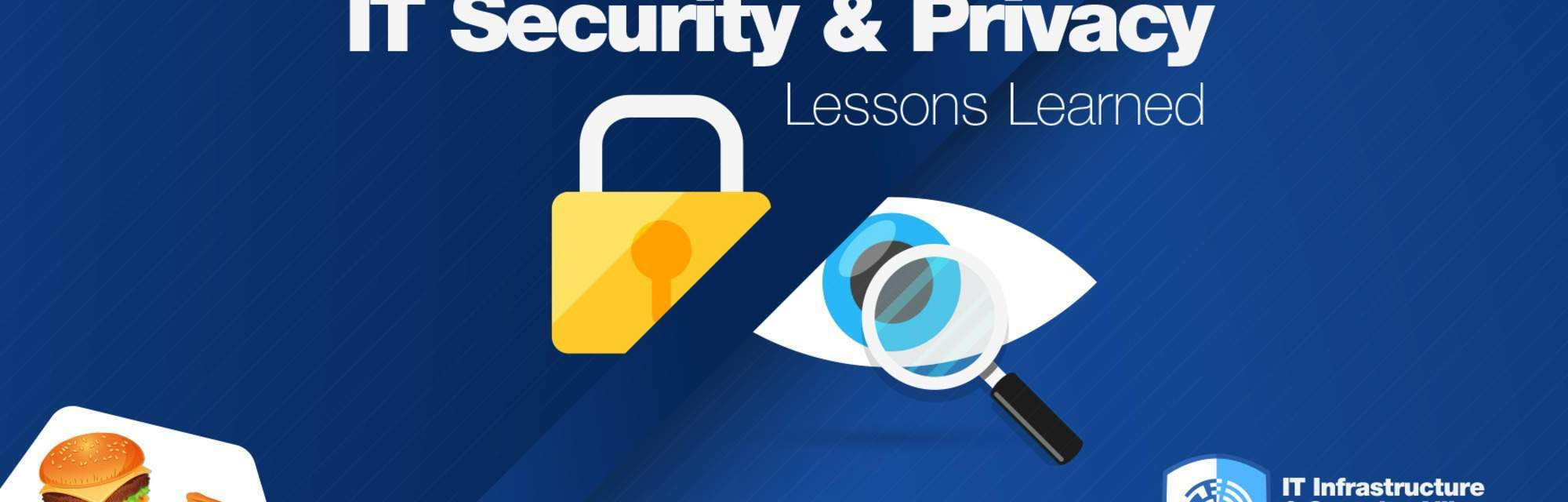 IT Security & Privacy event banner