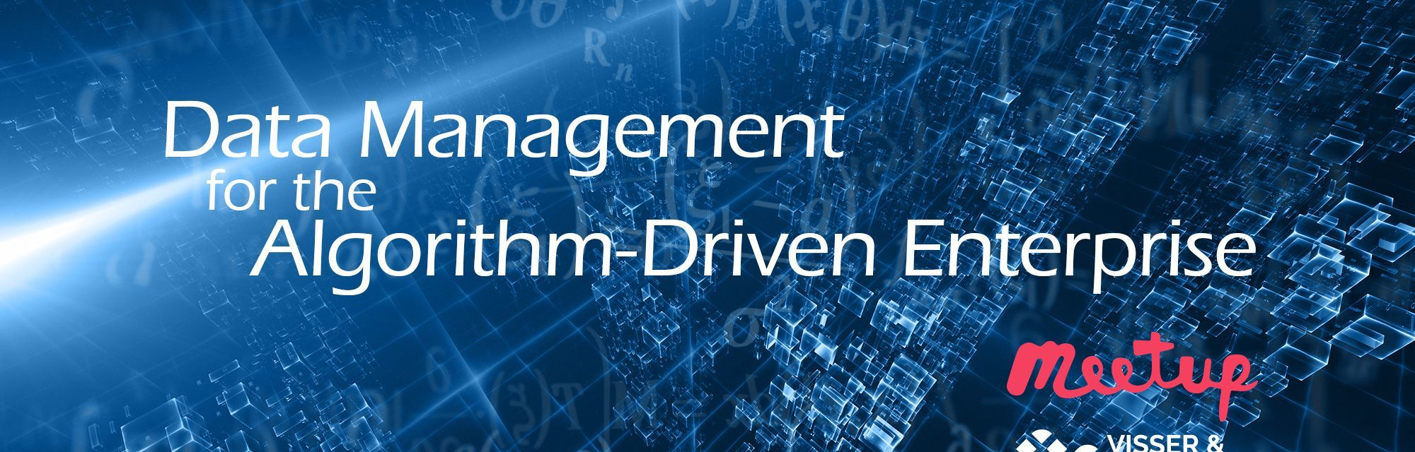 Event - Data Management for the Algorithm-Driven Enterprise