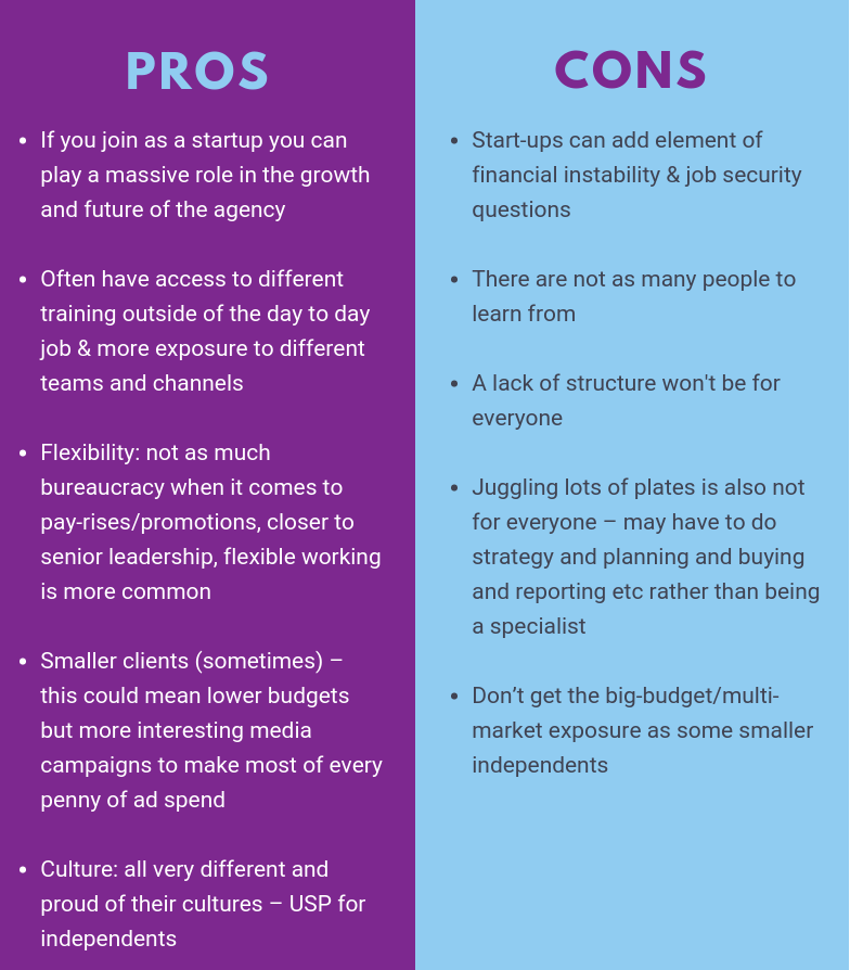 pros and cons of independent agencies