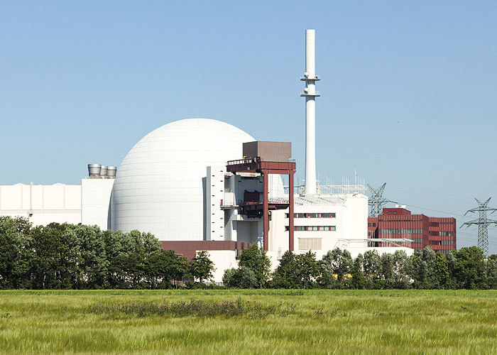 Astute TEchnical - Man in hard hat in a nuclear plant