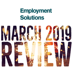 March 2019 Review