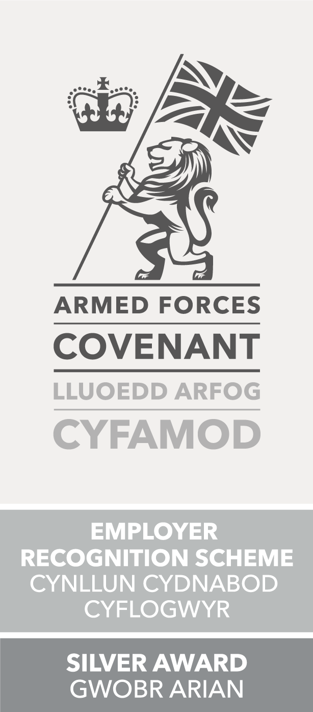 Armed Forces Covenant Employer Recognition Scheme Silver