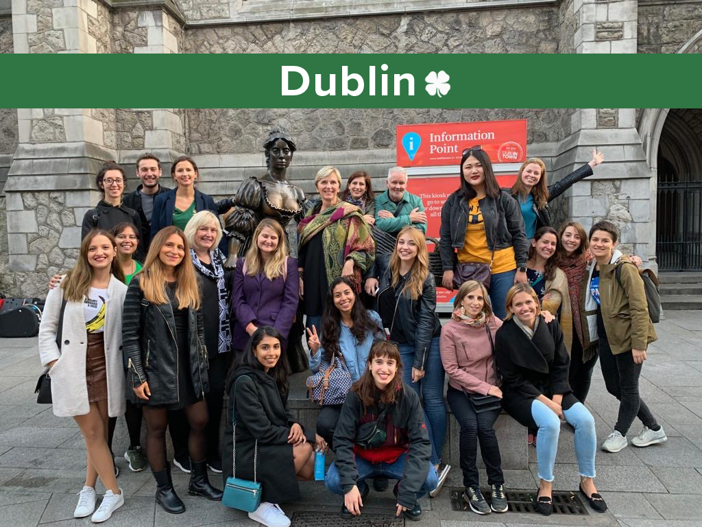 Team outing in Dublin