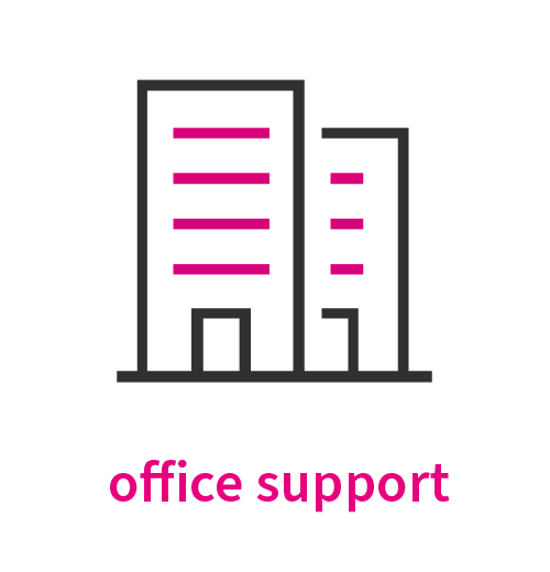 office support recruitment for the creative industries