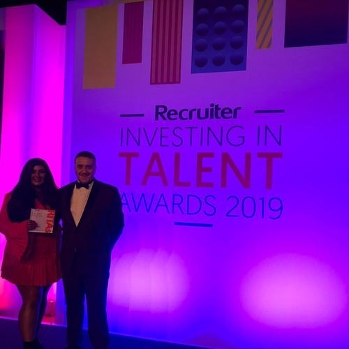 Recruiter Investing in Talent Awards