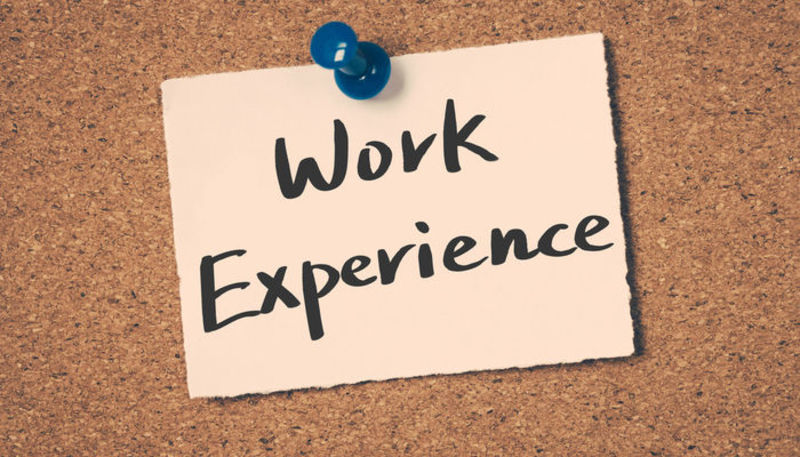 Work experience : Why is it important?