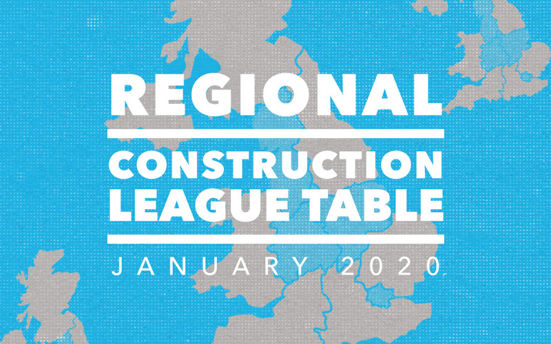 Top 3 Contractors in the North West, East & West Midlands and London - January 2020