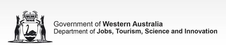 Government of Western Australia - Department of Jobs, Tourism, Science and Innovation