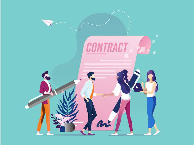 Work contracts in the Netherlands