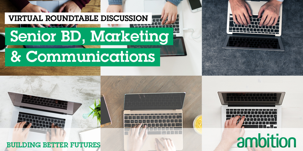 Virtual Roundtable Discussion; Senior BD, Marketing & Communications