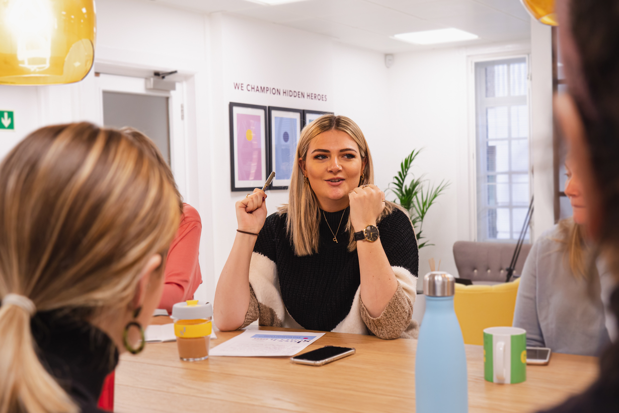 A recruitment specialist at Joss Search finding support staff candidates their dream job as a receptionist or PA or EA in alternative investments