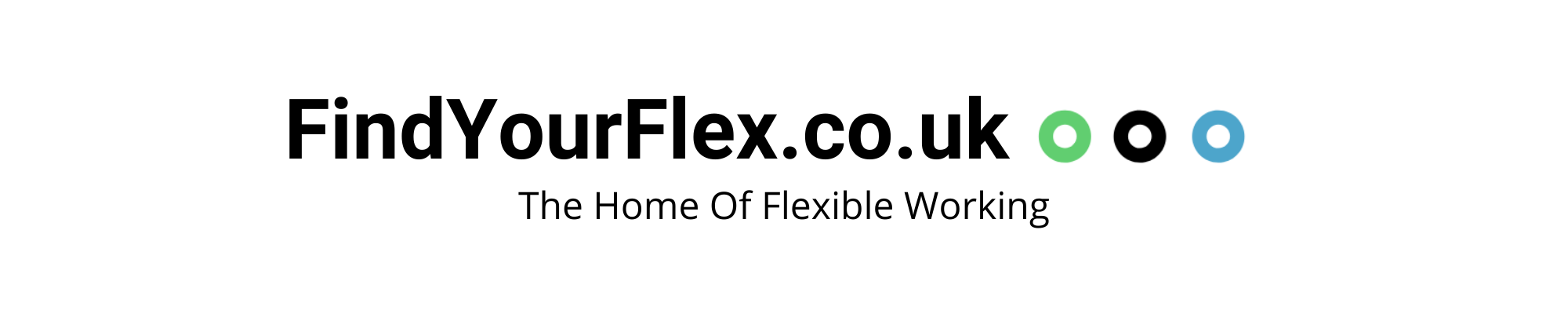 The Home Of Flexible Working, Find Your Flex Logo
