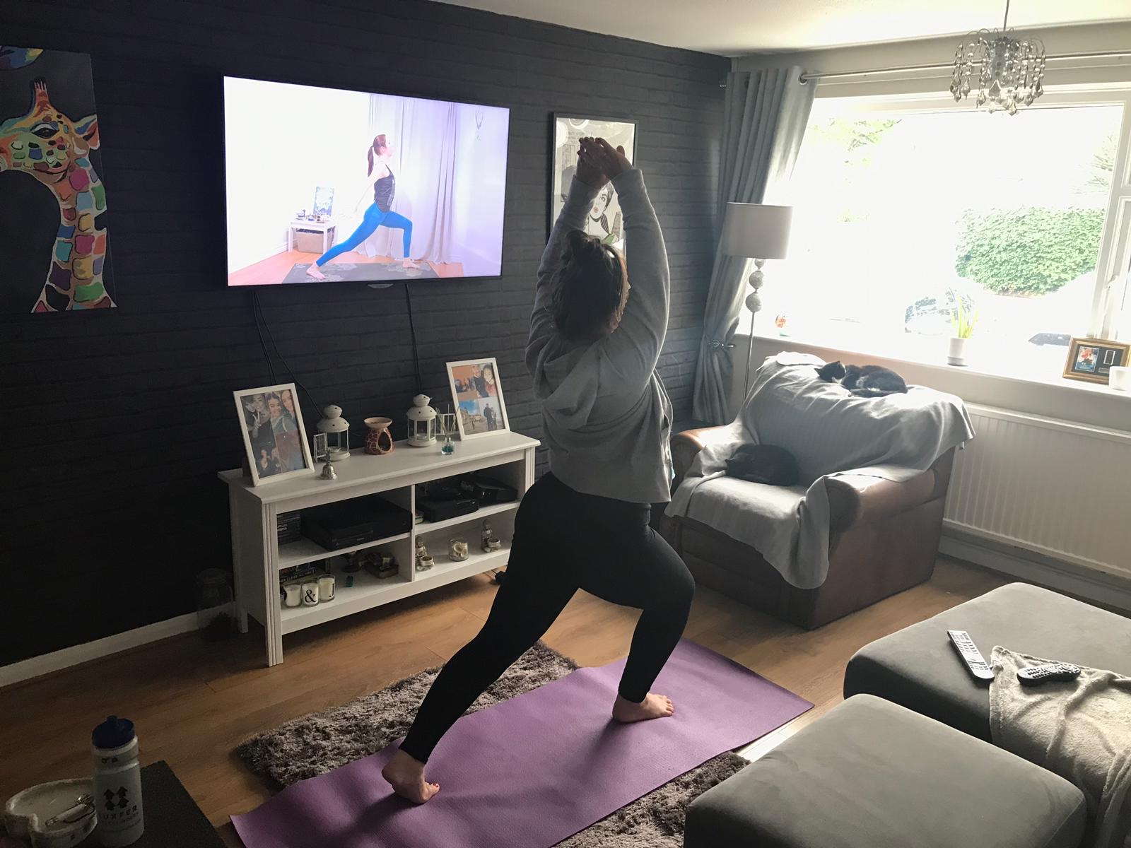 A Day in the Life of an FM Recruitment Consultant_Yoga
