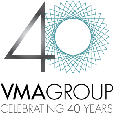 VMAGROUP Recruitment - 40 Years Logo