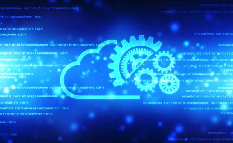 Cloud technology graphic