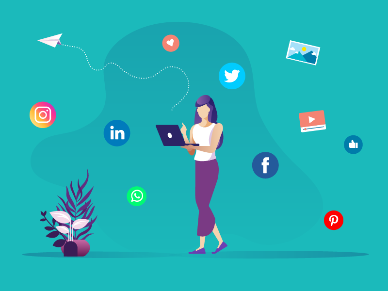 Your image on Social Media