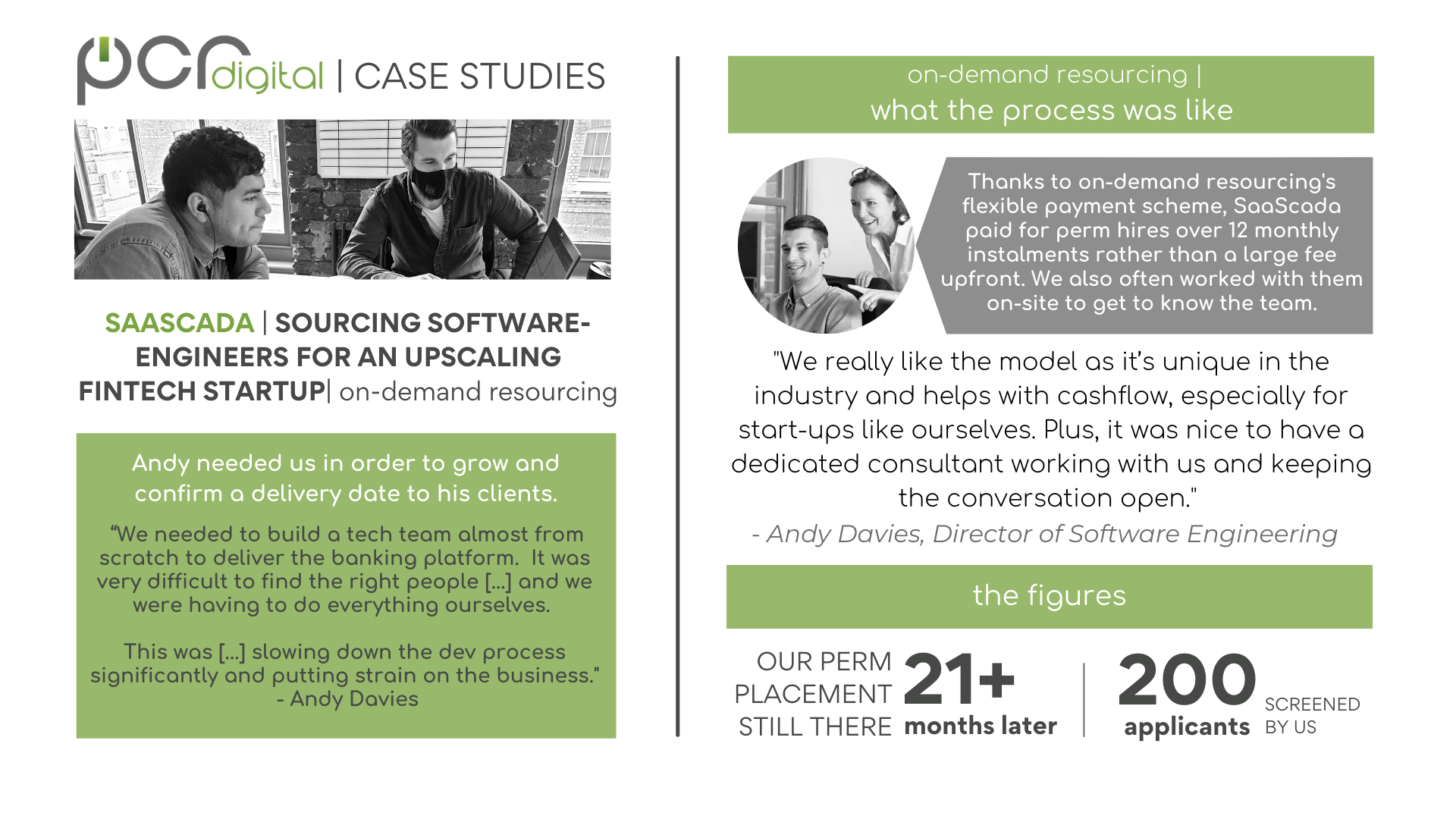 """SaaScada Alt text:  Testimonial: SAASCADA 