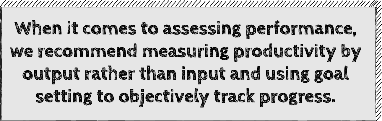 Determine How to Measure Performance and Keep People Accountable