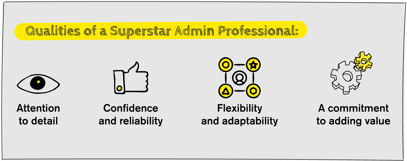 Qualities of a Superstar Admin Professional